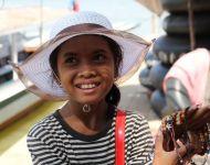 캄보디아의  눈
